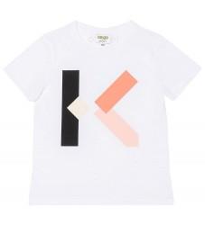 Kenzo T-shirt - Hvid m. Logo