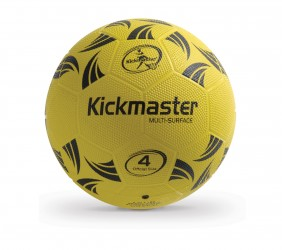 Kickmaster Multi Surface Gummi Fodbold str. 4