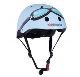 Kiddimoto Hjelm - Goggle Blå - M