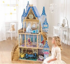 KidKraft Disney Prinsesse Askepot Dukkehus m/møbler