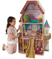 KidKraft Disney Prinsesse Belle Dukkehus m/møbler