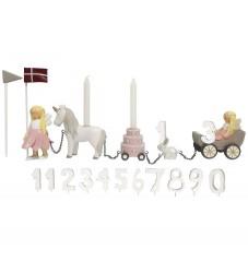 Kids by Friis Fødselsdagstog - 45 cm - Blomsterfeer