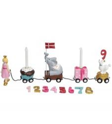 Kids by Friis Fødselsdagstog - 45 cm - Prinsesse