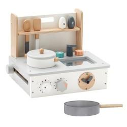 Kids Concept legekøkken - Hvid/grå