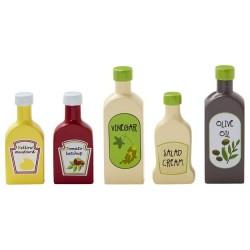 Kids Concept legemad 5 flasker i træ