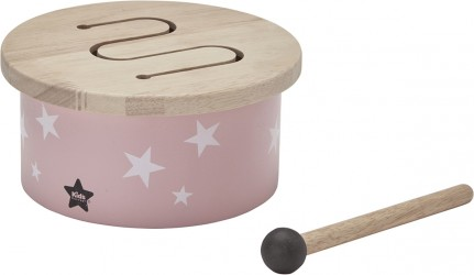 Kids Concept Mini Tromme - Rosa