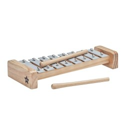 Kids Concept xylofon - Grå og træ