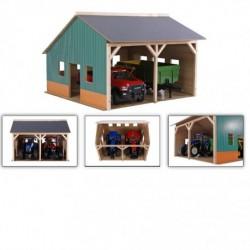 Kids Globe Traktor Garage med plads til 2 stk model 2020