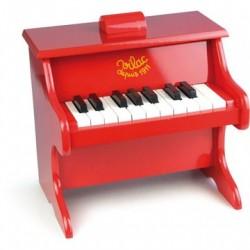 Klaver Piano Rød - Vilac