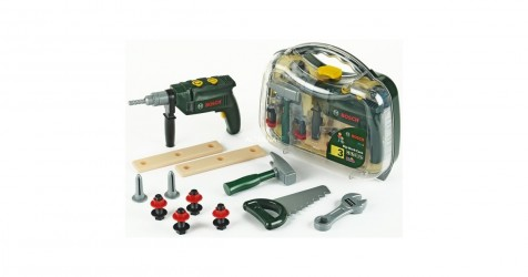 Klein Bosch værktøjskasse - Grøn