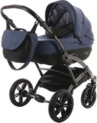 Knorr-Baby Voletto Carryo, kombivogn - Blå
