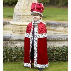 Konge Udklædning til børn str. 3 år - 8 år Travis Designs