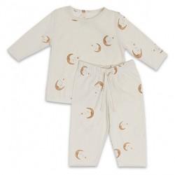 Konges Sløjd Moon Pyjamas - Light Grey