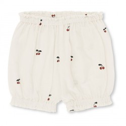 Konges Sløjd Uma Frill Shorts - Cherry