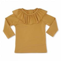 Konges Sløjd UPF 50+ soleil badebluse mustard flæse