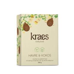Kraes Babybad med havre/kokos 200 g.