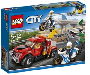Kranvogn-kaos - 60137 - LEGO City