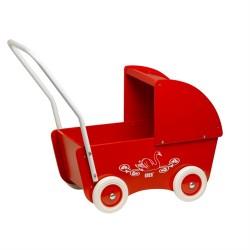 KREA Dukkevogn - Rød
