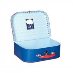 Kuffert med brandbil og lyd