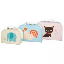 Kuffertsæt med dyr
