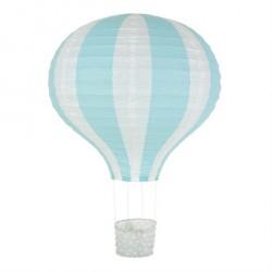 Lampe Luftballon Rispapir Lyseblå fra Jabadabado