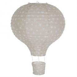 Lampe Luftballon Rispapir Lysegrå
