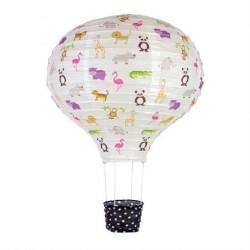 Lampe Luftballon Rispapir Safari fra Jabadabado