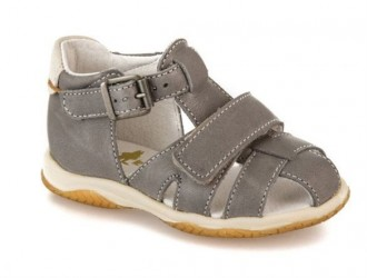 Le Loup blanc Dakota sandal, grå