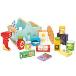 Le Toy Van Indkøbskurv m. Scanner