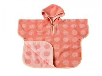 LEANDER Matty Poncho, 60x100, Coral/Pink Badeslag