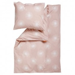 Leander soft pink 70X100 + 40X45 babysengetøj