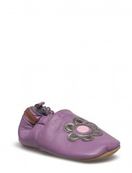 Leather Shoe - Flower