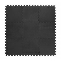 Legegulv fra Babydan - Tykt skum - Grå (90x90)