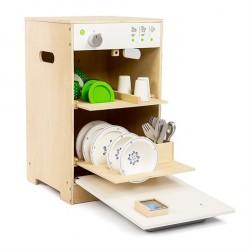 Legekøkken Opvaskemaskine i træ fra MaMaMeMo