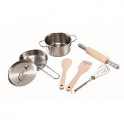 Legemad Grydesæt Chefs Cooking Set - Hape