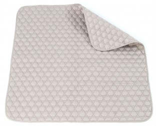 Legetæppe fra Smallstuff - Quilted - Douche Rose (1x1m)