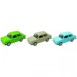Legetøjsbil fra GOKI - Trabant 601 (1:34-39)