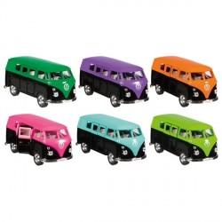 Legetøjsbil fra Goki - VW T1 Bus (1963) Pantone (1:38)