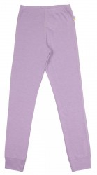 Leggings i lilla uld-silke