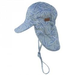 Legionærhat fra Melton UV30+ - Cap - Blue Hawaii