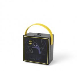 Lego Batman Madkasse med hank - Sort