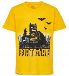 Lego Batman T-shirt - Gul m. Batman