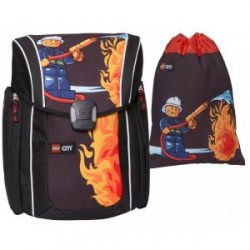 Lego City Fire - Xtreme skoletaske