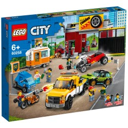 LEGO City Nitro Wheels Motorværksted