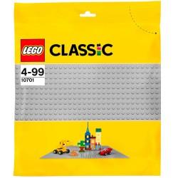LEGO Classic grå byggeplade