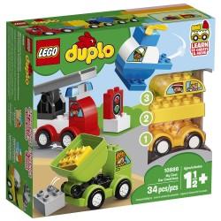 LEGO DUPLO Mine første bilmodeller
