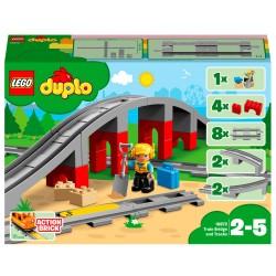 LEGO DUPLO Togbro og spor