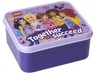 Lego Friends - Madkasse - Lavendel