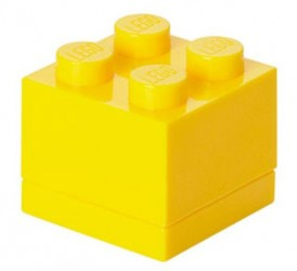 Lego Klods Mini Box Gul