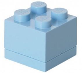 Lego Klods Mini Box Lyseblå